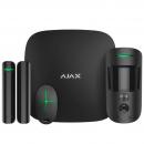 Ajax StarterKit Cam Комплект беспроводной сигнализации Черный