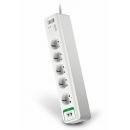 APC PM5T-RS Essential SurgeArrest, Защита телефонной линии 5 розеток