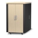 APC AR4024IA 24U Защищенный звукоизолированный шкаф NetShelter CX