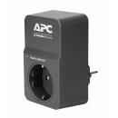 APC PM1WB-RS Essential SurgeArrest Сетевой фильтр чёрный 1 розетка