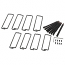 APC AR7707 Кольца для укладки кабелей для шкафов NetShelter