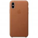 Apple Кожаный чехол для iPhone XS, золотисто-коричневый цвет