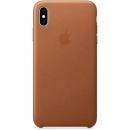 Apple Кожаный чехол для iPhone XS Max, золотисто-коричневый цвет