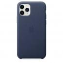 Apple Кожаный чехол для iPhone 11 Pro, тёмно-синий цвет