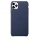Apple Кожаный чехол для iPhone 11 Pro Max, тёмно‑синий цвет