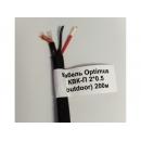 Optimus КВК-П +2х0,5 мм2 Кабель  для внешней прокладки медь, 100м