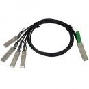 Cisco QSFP-4SFP10G-CU1M=