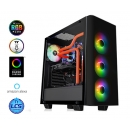 ATX THERMALTAKE View 21 TG Корпус , Midi-Tower, без БП, черный CA-1I3-00M1WN-05