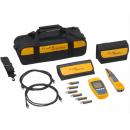 Fluke Networks MS-POE-KIT Microscanner PoE Professional Kit с детектором Intellitone Pro 200 Probe и комплектом удаленных идентификаторов