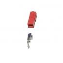 GIGALINK ANDERSON-45A(R) Разъём ANDERSON 45A красный