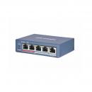 Hikvision DS-3E0105P-E(B) РОЕ коммутатор