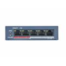 HiWatch DS-S504P(B) PoE-коммутатор