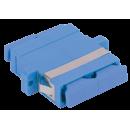 ITK Проходной адаптер SC-SC, для одномодового и многомодового кабеля (SM/MM), с полировкой UPC, двойного исполнения (Duplex)