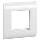 ITK Лицевая рамка для модулей Mosaic, 80х80мм, белая