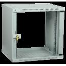 ITK Шкаф LINEA WE 15U 600x450мм дверь стекло серый