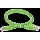ITK Коммутационный шнур (патч-корд), кат.5Е UTP, 1,5м, зеленый