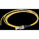 ITK Оптический коммутационный монтажный шнур (пигтейл), для одномодового кабеля (SM), 9/125 (OS2), FC/UPC, LSZH, 1,5м