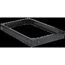 ITK Цоколь для напольных шкафов, высота 100мм, 800х1000мм, черный