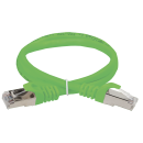 ITK Коммутационный шнур (патч-корд), кат.5Е FTP, 2м, зеленый