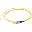 ITK Оптический коммутационный монтажный шнур (пигтейл), для одномодового кабеля (SM), 9/125 (OS2), ST/UPC, LSZH, 1,5м