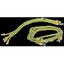 ITK Комплект проводов заземления 50 cм - 6шт, 80 cм - 3шт