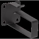 ITK Кольцо кабельное 50x44мм с площадкой (компл. 4шт), черное
