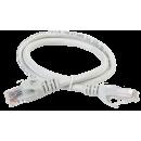 ITK Коммутационный шнур (патч-корд), кат.6 UTP, LSZH, 0,5м, серый