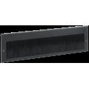 ITK Щеточный кабельный ввод 390х115 мм, черный