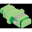 ITK Проходной адаптер SC-SC, для одномодового и многомодового кабеля (SM/MM), с полировкой APC, одинарного исполнения (Simplex)