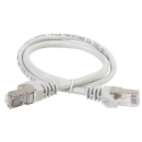 ITK Коммутационный шнур (патч-корд), кат.6 FTP, LSZH, 0,5м, серый