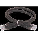 ITK Коммутационный шнур (патч-корд), кат.5Е UTP, 2м, черный