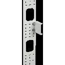 ITK Вертикальный кабельный органайзер 42U, 150x12мм, серый