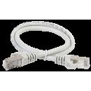 ITK Коммутационный шнур (патч-корд), кат.6 FTP, 0,5м, серый