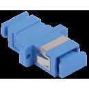 ITK Проходной адаптер SC-SC, для одномодового и многомодового кабеля (SM/MM), с полировкой UPC, одинарного исполнения (Simplex)