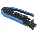 ITK Инструмент обжимной для коннекторов F-типа на коаксиальный кабель