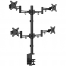 KRON D422E Кронштейн для четырех мониторов