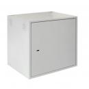 NETLAN EC-WS-126045-GY Настенный антивандальный шкаф