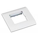 NETLAN EC-FPM-1-WT-10 Настенная лицевая панель под вставку Mosaic (10 шт)