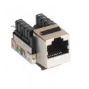 NETLAN EC-UKJ-SD2-MT-10 Модуль-вставка типа Keystone (10 шт)