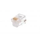 NETLAN EC-UP6P6C-UC-003-TR-1000 Коннектор RJ12/6P6C под витую пару (1000 шт)