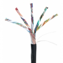 NETLAN  EC-UU025-5-PE-BK-3 кабель для внешней прокладки