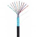 NETLAN  EC-UF010-5-PE-BK-3 кабель для внешней прокладки 305 метров