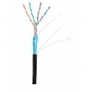 NETLAN FTP-5Ecat.4pair 24 AWG - кабель для внешней прокладки (1м)