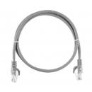 NIKOMAX NMC-PC4UD55B-ES-003-C-GY Коммутационный шнур (0,3 м)