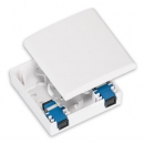 NIKOMAX NMF-WO01SCUS2-CS-WT Оптическая розетка на 1 порт SC/UPC
