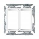 NIKOMAX NMC-PV2MH-WW Адаптерная панель формата Valena на 2 вставки формата Mosaic