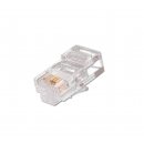 NIKOMAX NMC-RJ84RE06UD1-100 Коннектор RJ45/8P4C под витую пару (100 шт)