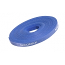 NIKOMAX NMC-CTV05M-15-RL-BL Стяжка-липучка нарезаемая синяя