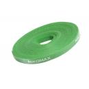 NIKOMAX NMC-CTV05M-15-RL-GN Стяжка-липучка нарезаемая зеленая