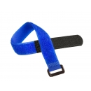 NIKOMAX NMC-CTV290-20-HB-BL-10 Стяжка-липучка с жесткой пряжкой
